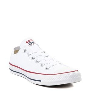 Converse All-Star Low-Tops - WHITE 9.5 Men's